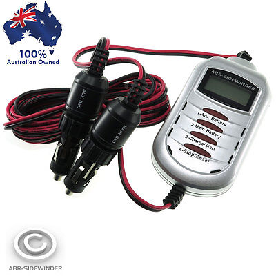 Battery To Battery Charger 12V 7.5A Cigar To Cigar Dc Dc-Dc No Volt Drop