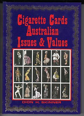 """""""Cigarette Cards, Australian Issues & Values"""" by Dion Skinner, definitive book"""