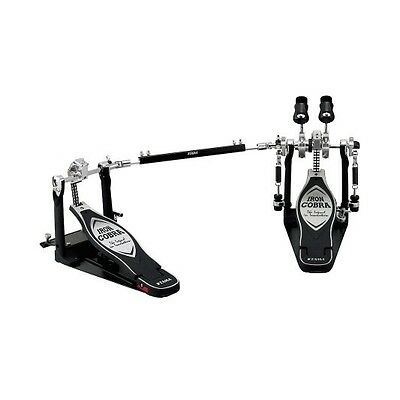 NEW - Tama Iron Cobra Power Glide Dual Kick Drum Pedal, #HP900PWN
