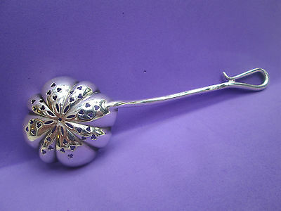 A Beautiful Silver Plated Tea Strainer Spoon?