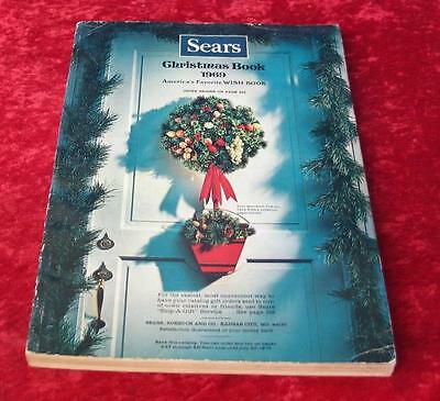 Vintage 1969 Sears Roebuck & Company Christmas Wishbook Catalog
