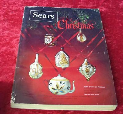 Vintage 1965 Sears Roebuck & Company Christmas Wishbook Catalog