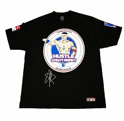 Wwe John Cena You Cant See Me Hand Signed Autographed T-Shirt Xl With Coa