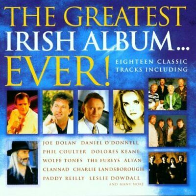 Various Artists - The Greatest Irish Album Ever - Various Artists CD R5VG The