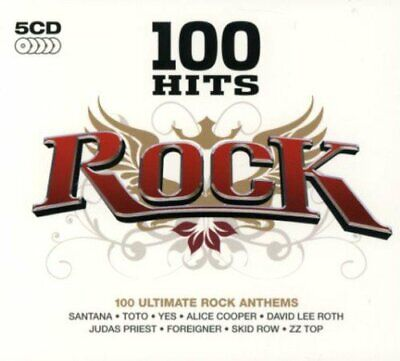 Various Artists - 100 Hits: Rock - Various Artists CD TQVG The Cheap Fast Free