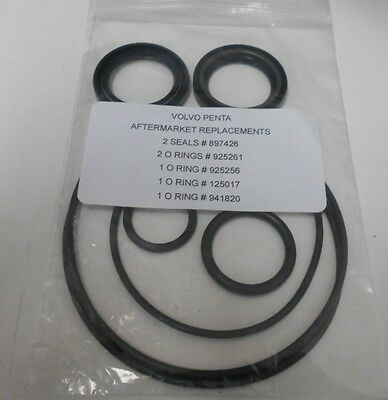 Volvo Penta Lower Unit & Prop Shaft Seals And O-Ring Gaskets 270 - 275 - 280