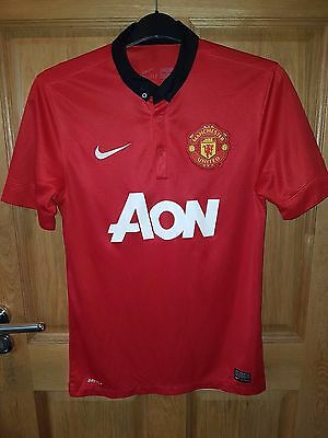 Manchester United Fc Official Nike Shirt 2012 Home Size Small
