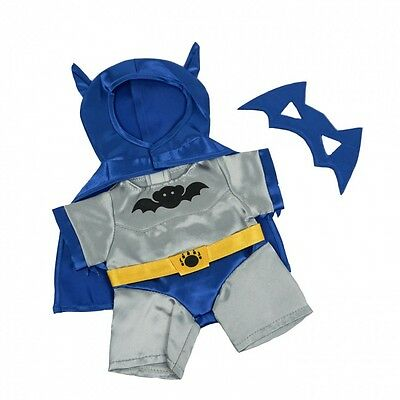 "Bat Bear Outfit Costume Teddy Bear Clothes to fit 8""-10"" bears"