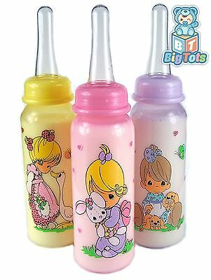 BIG TOTS Adult size  Precious Moments baby girls silicone nipple   bottle