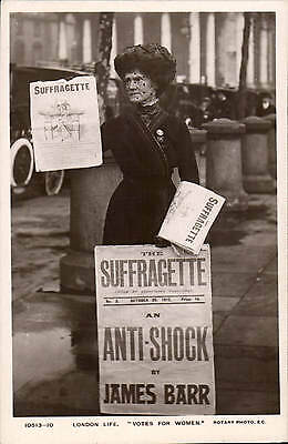 London Life. Votes for Women by Rotary # 10513-10. Suffragette.