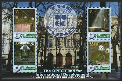 St. Vincent 2006 - Mi-Nr. 6234-6237 ** - MNH - Vögel / Birds