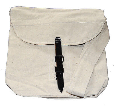 American Civil War Confederate Or Union Lined Canvas Haversack Strapped Fastener