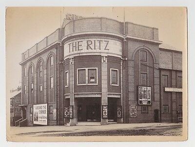 Warwickshire, The Ritz cinema, Birmingham, 1930's photographs.