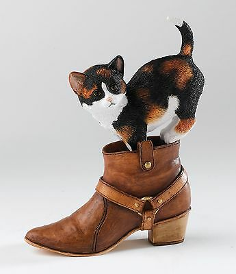 "Country Artists CA06690  Kitten Heels ""Chloe"" Cat Figurine 14299 NEW IN BOX"