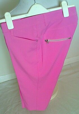 Ladies Golf Crop Trousers By Jrb Golf-Size 12-Sale Item-Last One-Now Only £19.99