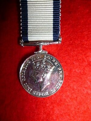 The Naval Conspicuous Gallantry Medal, King George VI, Miniature Medal
