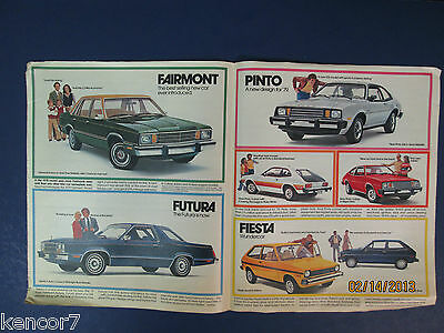 1979 Ford Full Line Sales Brochure D6551