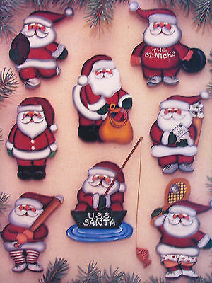 Santa Christmas Ornaments Painting Book 3 by Jan Way Special Additions