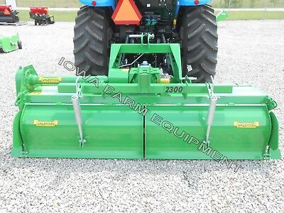 """Rotary Tiller Heavy Duty Valentini H2000 83"""", Tractor 3-Pt, PTO: 100HP Gearbox"""