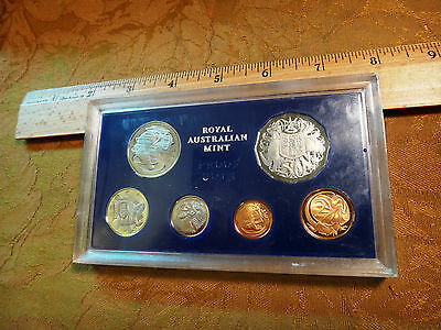 1972 Royal Australian Mint Proof Set Rare Key Date In Plastic - Free S&H USA