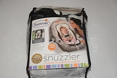 Summer The Original Snuzzler Complete Head and Body Support, Ivory Black
