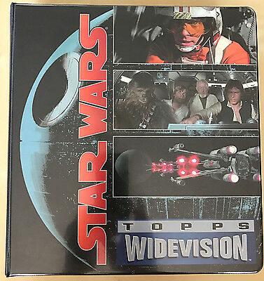Star Wars Widevision 1995/96 Complete Trading Card Set complete with Binder.