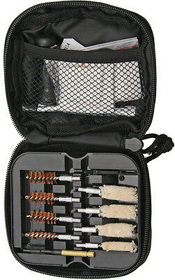 ABKT Tac Portable Pistol Cleaning Kit AB0034B Includes: Brass bore brushes and c