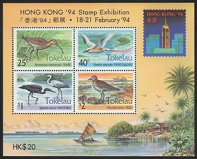 Tokelau 1994 - Mi-Nr. Block 2 **  - MNH - Vögel / Birds