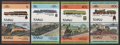 Tuvalu 1984 - Mi-Nr. 213-220 ** - MNH - Lokomotive / Locomotives