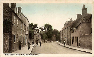 Warminster. Vicarage Street in RA Series for M.White, Warminster.