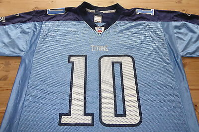 Tennessee Titans Reebok Nfl Football Jersey Shirt Top Xlarge Young