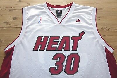 MIAMI HEAT adidas NBA BASKETBALL JERSEY SHIRT TOP LARGE BEASLEY