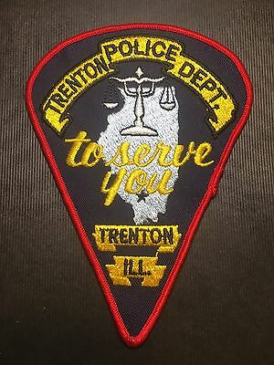 Trenton  Illinois  Police  Shoulder Patch