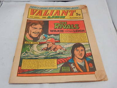Valiant And Lion Comic 23rd Nov 1974 ~ David Wilkie vs David Leigh