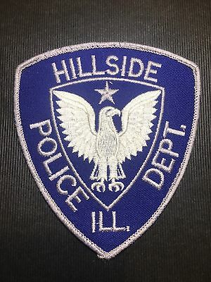 Hillside  Illinois Police  Shoulder Patch