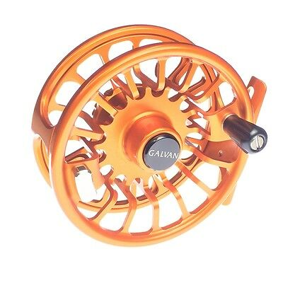 Galvan T-6 Torque 6 Fly Reel Burnt Orange 6/7 Weight Rod Usa Made Free $100 Line