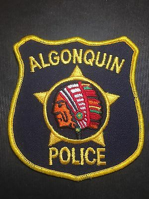 Algonquin  Illinois Police  Shoulder Patch