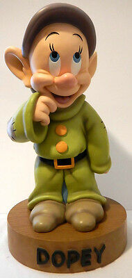 """Retired - """"dopey"""" Big Figure From Disney - Snow White"""