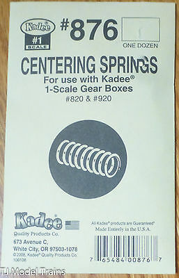 Kadee #876 (#1 Scale) Centering Springs for: use with 1-Scale Gear Boxes 820,920