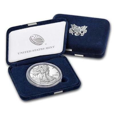 1 Unze Silber American Eagle 2017 USA Proof West Point