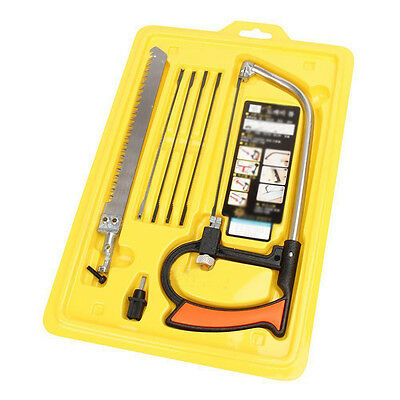 Multi Function Magic Saw Handcraft Hand Metal Kit Powerful Blade Tools 8 in 1