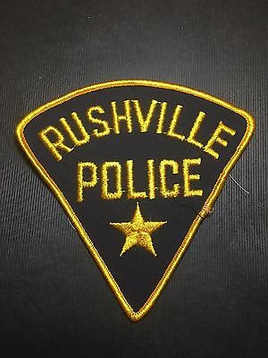 Rushville  Illinois Police  Shoulder Patch
