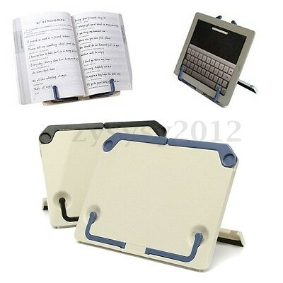 Portable Folding Foldable Book Stand Reading Desk Documents holder Gift UK