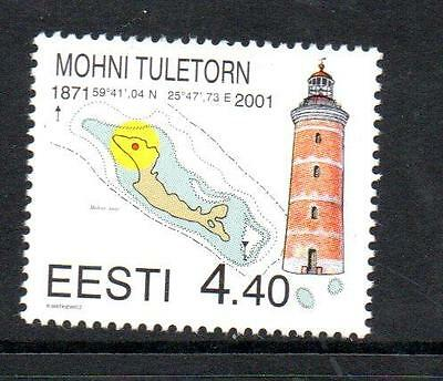 Estonia Mnh 2001 Sg386 Mohni Lighthouse