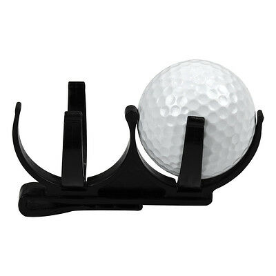 Creative Golf Ball Retriever Double Clip On Pick Up Tool Gripper Golf Accessory