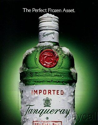 1994 Ad Tanqueray Special Dry London Gin