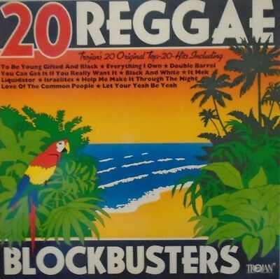20 REGGAE BLOCKBUSTERS - Various Artists ~ VINYL LP