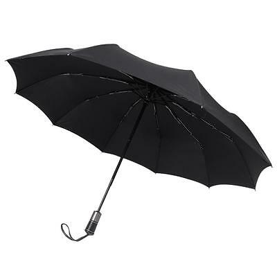 Rainlax Windproof Umbrella 10 Ribs Unbreakable Lightweight Auto Open and Close