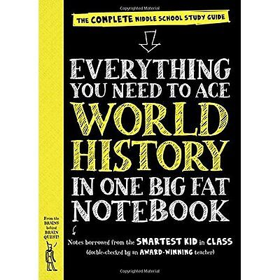 Everything You Need to Ace World History in One Big Fat - Paperback NEW Ximena V