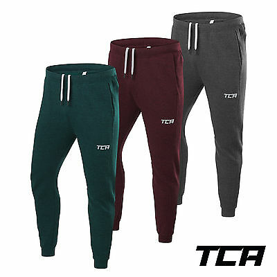 TCA Men's Natural Performance Tapered Running Joggers Jogging Bottoms